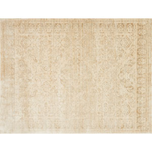 Crafted by Loloi Trousdale Sand Round: 5 Ft. 7 In. x 5 Ft. 7 In. Rug
