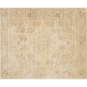 Crafted by Loloi Trousdale Desert Red Round: 5 Ft. 7 In. x 5 Ft. 7 In. Rug