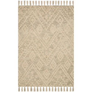 Crafted by Loloi Zagora Oatmeal Rectangle: 3 Ft. 6 In. x 5 Ft. 6 In. Rug