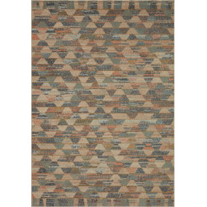 Chalos Natural and Dark Gray 9 Ft. 6 In. x 12 Ft. 6 In. Area Rug
