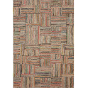 Chalos Cream and Brown 9 Ft. 6 In. x 12 Ft. 6 In. Area Rug