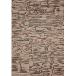 Chalos Sand and Black 5 Ft. 5 In. x 7 Ft. 6 In. Area Rug