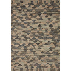 Chalos Sand and Graphite 9 Ft. 6 In. x 12 Ft. 6 In. Area Rug