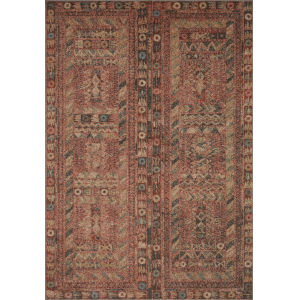 Chalos Charcoal and Fiesta 7 Ft. 10 In. x 10 Ft. Area Rug