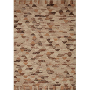 Chalos Beige and Nutmeg 9 Ft. 6 In. x 12 Ft. 6 In. Area Rug
