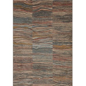 Chalos Charcoal and Brown 7 Ft. 10 In. x 10 Ft. Area Rug