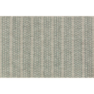Isle Grey and Teal Rectangular: 2 Ft 2 In x 3 Ft 9 In Rug