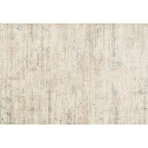 Kingston Ivory and Stone Rectangular: 2 Ft 7 In x 3 Ft 9 In Rug