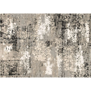Viera Grey Runner: 2 Ft 5 In x 7 Ft 7 In Rug
