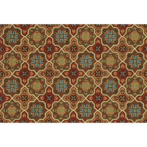 Francesca Spice and Dark Gold Rectangular: 3 Ft 6 In x 5 Ft 6 In Rug