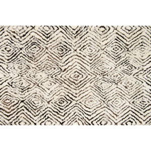 Folklore Ivory and Granite Rectangular: 3 Ft 6 In x 5 Ft 6 In Rug
