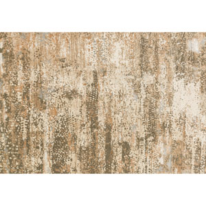 Kingston Ivory and Camel Rectangular: 2 Ft 7 In x 3 Ft 9 In Rug