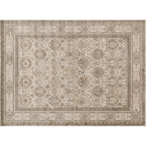 Century Sand and Taupe Rectangular: 2 Ft 7 In x 4 Ft Rug