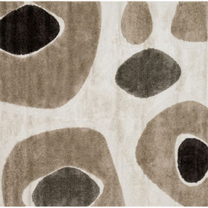 Enchant Ivory Square: 7 Ft 7 In Rug