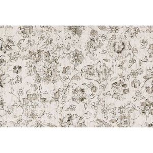 Torrance Ivory and Neutral Rectangular: 3 Ft 9 In x 5 Ft 9 In Rug