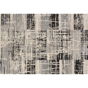 Emory Grey and Multicolor Rectangular: 3 Ft 10 In x 5 Ft 7 In Rug