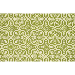 Venice Beach Peridot and Ivory Rectangular: 2 Ft 3 In x 3 Ft 9 In Rug