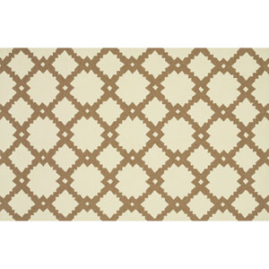 Venice Beach Ivory and Taupe Rectangular: 2 Ft 3 In x 3 Ft 9 In Rug