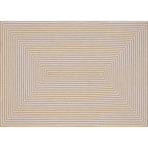 In/Out Beige Rectangular: 2 Ft 3 In x 3 Ft 9 In Rug