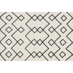 Adler Ivory Rectangular: 3 Ft 6 In x 5 Ft 6 In Rug