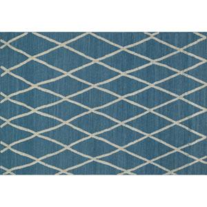 Adler Azure Rectangular: 3 Ft 6 In x 5 Ft 6 In Rug