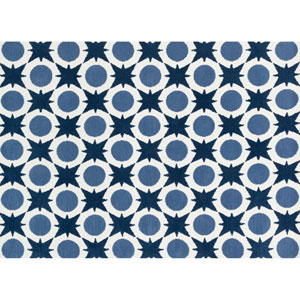 Piper Denim Rectangular: 2 Ft x 3 Ft Rug