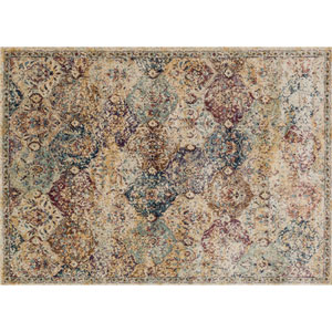 Anastasia Ivory Rectangular: 7 Ft 10 In x 10 Ft 10 In Rug