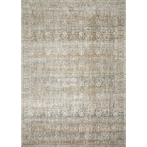 Anastasia Grey and Multicolor Rectangular: 5 Ft. 3 In. x 7 Ft. 8 In. Rug