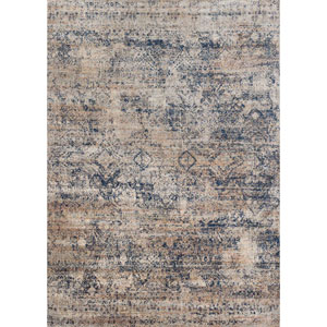 Anastasia Blue Rectangular: 6 Ft. 7-Inch x 9 Ft. 2-Inch Rug
