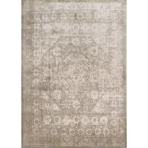 Anastasia Gray and Sage Rectangular: 6 Ft. 7-Inch x 9 Ft. 2-Inch Rug