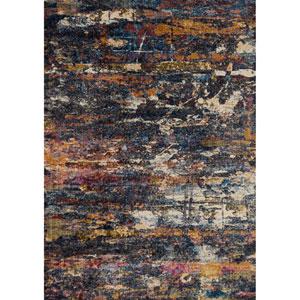 Dreamscape Multicolor Rectangular: 1Ft. 11-Inch X 3Ft. Rug
