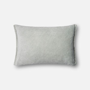 Seafoam Green 13 x 21 In. Pillow with Down Fill