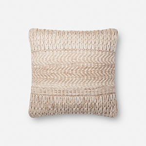 Sand 18 In. x 18 In. Throw Pillow with Down Fill