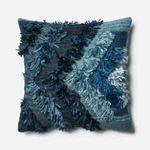Indigo 22-Inch Pillow with Down Insert