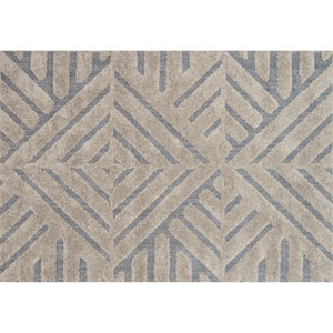 Enchant Grey and Slate Rectangular: 2 Ft. 3 In. x 3 Ft. 9 In. Rug