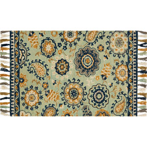 Farrah Multicolor Rectangular: 2 Ft. 3-Inch x 3 Ft. 9-Inch Area Rug