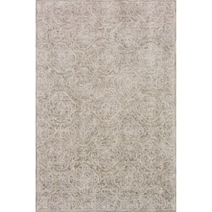 Filigree Sand Rectangular: 3 Ft. 6-Inch x 5 Ft. 6-Inch Rug