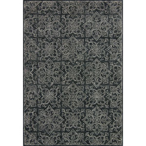 Filigree Charcoal Rectangular: 7 Ft. 9-Inch x 9 Ft. 9-Inch Rug