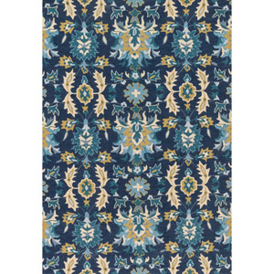 Francesca Multicolor Rectangular: 2Ft. 3-Inch x 3Ft. 9-Inch Rug