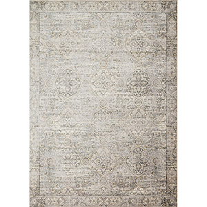 Griffin Grey and Gold Rectangular: 7 Ft. 6 In. x 10 Ft. 5 In. Rug