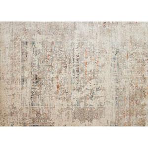 Javari Ivory and Granite Rectangular: 5 Ft. 3-Inch x 7 Ft. 4-Inch