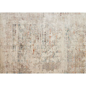 Javari Ivory and Granite Rectangular: 6 Ft. 7-Inch x 9 Ft. 4-Inch