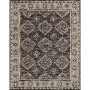 Josephine Charcoal and Taupe Rectangular: 3 Ft. 6-Inch x 5 Ft. 6-Inch Rug