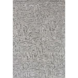 Juneau Grey Rectangular: 3 Ft. 6 In. x 5 Ft. 6 In.  Rug