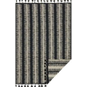 Kahelo Black and Gray Rectangular: 5 Ft. x 7 Ft. 6-Inch Rug
