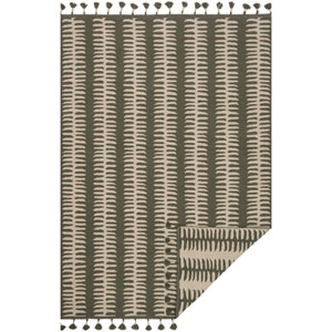 Kahelo Gray and Silver Rectangular: 2 Ft. 3-Inch x 3 Ft. 9-Inch Rug
