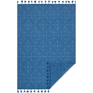 Kahelo Blue Rectangular: 2 Ft. 3-Inch x 3 Ft. 9-Inch Rug