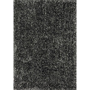 Kendall Shag Charcoal Rectangular: 2 Ft. 3-Inch x 3 Ft. 9-Inch Rug