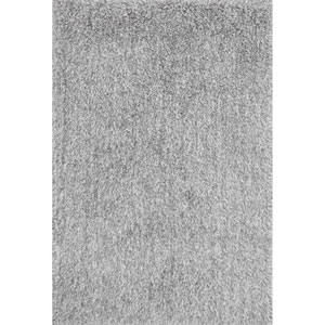 Kendall Shag Gray Rectangular: 2 Ft. 3-Inch x 3 Ft. 9-Inch Rug