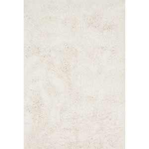 Kendall Shag Ivory Rectangular: 2 Ft. 3-Inch x 3 Ft. 9-Inch Rug